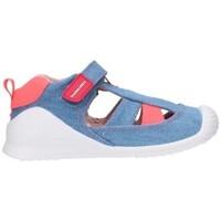 Schuhe Jungen Sandalen / Sandaletten Biomecanics 212215 Niño Jeans bleu