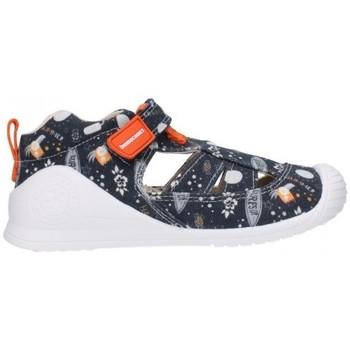 Schuhe Jungen Sandalen / Sandaletten Biomecanics 212221 Niño Azul marino bleu