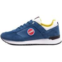 Schuhe Herren Sneaker Low Colmar Travis Bold Weiß, Blau