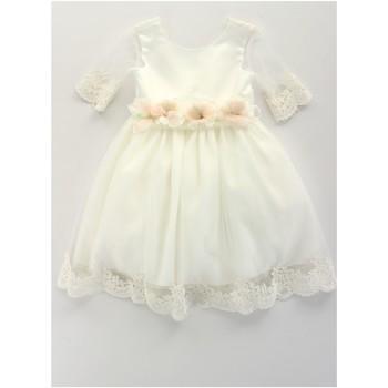 Kleidung Mädchen Kurze Kleider Bella Brilli BB402157 Elfenbein