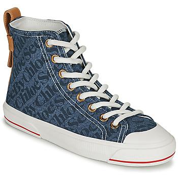 Schuhe Damen Sneaker High See by Chloé ARYANA Blau