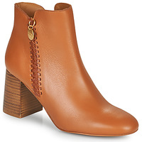 Schuhe Damen Low Boots See by Chloé LOUISEE Camel