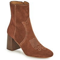 Schuhe Damen Low Boots See by Chloé LIZZI Braun