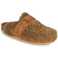 Schuhe Damen Pantoffel See by Chloé GEMA Camel