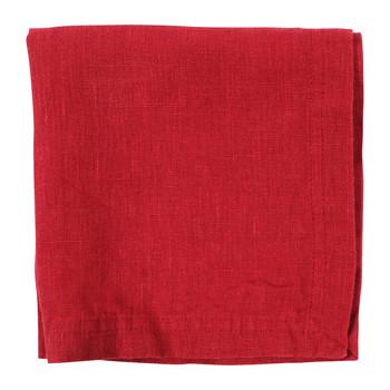 Home Stoffserviette Côté Table BASIC Rot