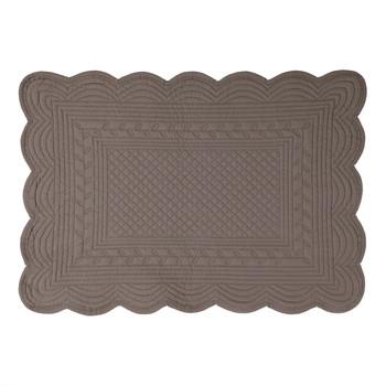 Home Tischset Côté Table BOUTIS Grau / Poivre
