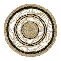 Home Tischset Sema FLOR-GIPSY Schwarz