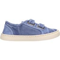 Schuhe Jungen Sneaker Low Natural World - Sneaker blu 6471E-690 BLU
