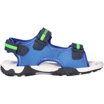 Schuhe Jungen Sandalen / Sandaletten Docksteps - Sandalo blu/verde BOXE3 BLU