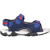 Schuhe Jungen Sandalen / Sandaletten Docksteps - Sandalo blu/rosso BOXE1 BLU