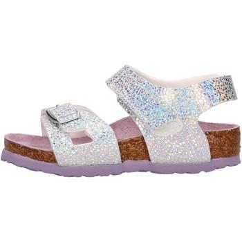Schuhe Mädchen Sandalen / Sandaletten Birkenstock - Colorado argento 1018737 MULTICOLOR