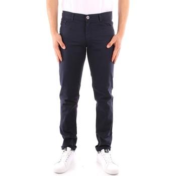 Kleidung Herren 5-Pocket-Hosen Trussardi 52J00007 1Y000163 NAVY BLAU