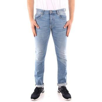 Kleidung Herren Slim Fit Jeans Blauer 21SBLUP03402 BLAU