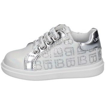 Schuhe Mädchen Sneaker Low Laura Biagiotti 7421 WEISS