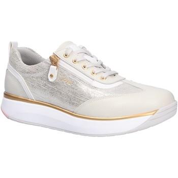 Schuhe Damen Sneaker Low Joya Damen Schnürschuhe beige