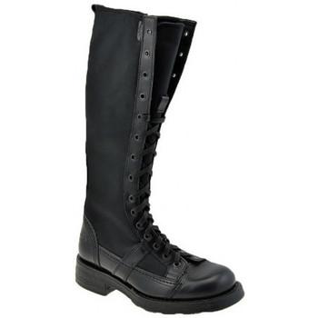 Schuhe Damen Low Boots OXS CharlyT.30halbstiefel Schwarz