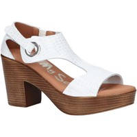 Schuhe Damen Sandalen / Sandaletten Oh My Sandals 4904-HY1 Blanco