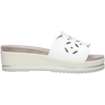 Schuhe Damen Pantoffel Enval 72844 Weiß