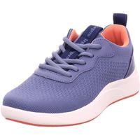 Schuhe Damen Sneaker Low Legero Schuh Textil \ BALLOON INDACOX (BLAU) 8