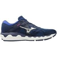 Schuhe Damen Laufschuhe Mizuno Wave Horizon 4 Dunkelblau