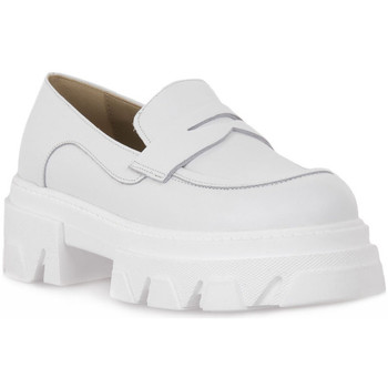 Schuhe Damen Slipper Priv Lab VITELLO BIANCO Bianco