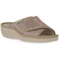 Schuhe Damen Pantoffel Emanuela 1077 PIPER TIERRA Marrone