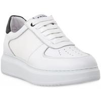 Schuhe Herren Sneaker Low Exton BIANCO NAPPA Bianco