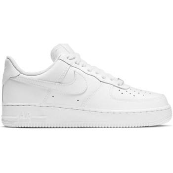 Schuhe Damen Sneaker Low Nike Air Force 1 07 Weiß