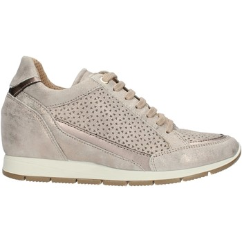 Schuhe Damen Sneaker Low Enval 72771 Beige