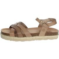Schuhe Damen Sandalen / Sandaletten Yokono JAVA-152 Braun Taupe
