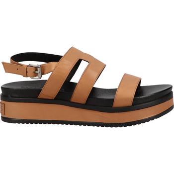 Schuhe Damen Sandalen / Sandaletten Shabbies Amsterdam Pantoletten Cognac