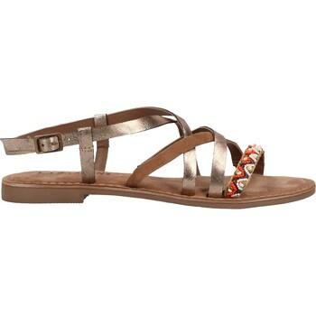 Schuhe Damen Sandalen / Sandaletten Lazamani Sandalen Copper