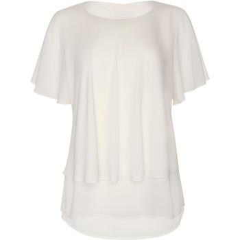 Kleidung Damen Tops / Blusen Lisca Ensenada  kurzärmeliges Oberteil Gelb
