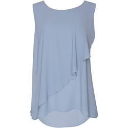 Kleidung Damen Tops / Blusen Lisca Ärmelloses Oberteil Ensenada Blau