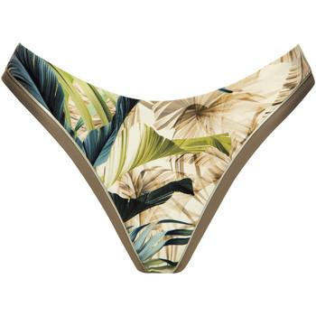 Kleidung Damen Bikini Ober- und Unterteile Lisca Bikini-Slips eingerückt Ensenada Dunkelgrün
