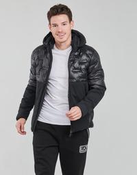 Kleidung Herren Daunenjacken Emporio Armani EA7 MOUNTAIN M TECH Schwarz