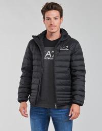 Kleidung Herren Daunenjacken Emporio Armani EA7 MOUNTAIN M DOWN Schwarz