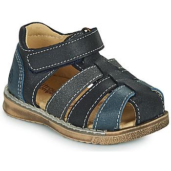 Schuhe Jungen Sandalen / Sandaletten Citrouille et Compagnie FRINOUI Marine / Grau
