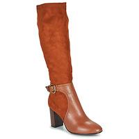 Schuhe Damen Klassische Stiefel JB Martin 3VILLE Cuoio