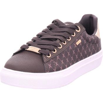 Schuhe Damen Sneaker Low Mexx Crista braun