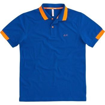 Kleidung Herren Polohemden Sun68  Blau