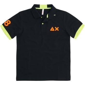 Kleidung Herren Polohemden Sun68  schwarz