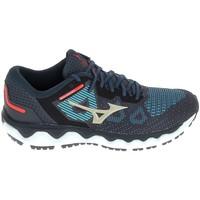 Schuhe Laufschuhe Mizuno Wave Horizon 5 Bleu Blau