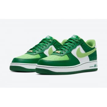 Schuhe Sneaker Low Nike Air Force 1 Low St Patricks Day White/Green