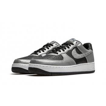 Schuhe Sneaker Low Nike Air Force 1 Low Reflective Snakeskin Black/Silver/Black