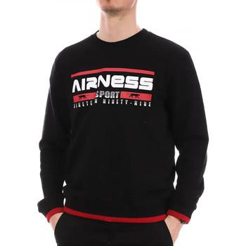 Kleidung Herren Sweatshirts Airness NINETY-SWEAT Schwarz