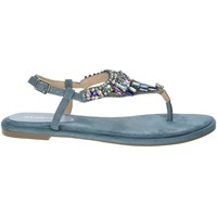 Schuhe Damen Sandalen / Sandaletten Menbur 22327 Avio Blau