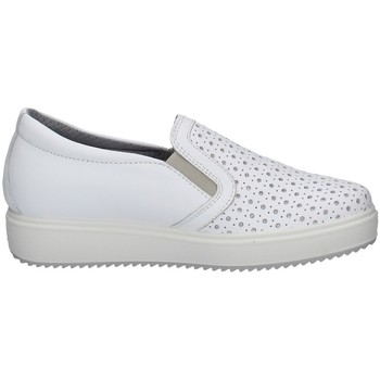 Schuhe Damen Slipper Imac 707400 WEISS