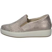 Schuhe Damen Slipper Imac 707400 TAUPE