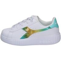 Schuhe Mädchen Sneaker Low Diadora 101.177013-C9044 WEISS